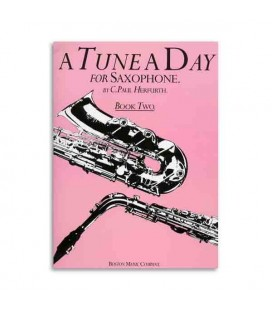Libro Music Sales BM10231 Tune a Day Saxophone Book 2