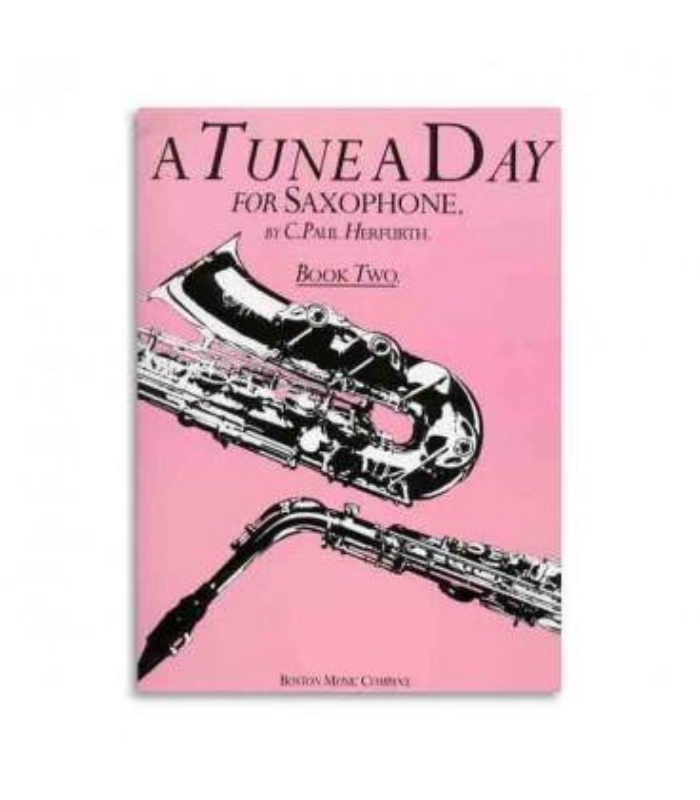 Music Sales Book BM10231 Tune a Day Saxophone 2