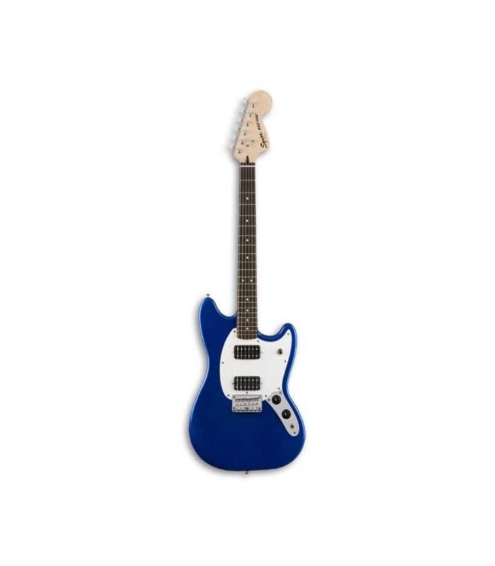 Foto de la guitarra Squier Bullet Mustang HH RW Imperial Blue