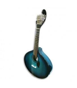 Guitarra Portuguesa Artimúsica 70070BB Simples Lisboa Blueburst