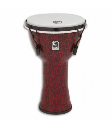 Djembe Toca Percussion TF2DM 9RM Freestyle II Mechanically Tuned Red Mask