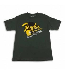 Camiseta Fender Verde Original Tele Size M