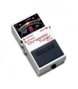 Boss Pedal Chromatic Tuner TU 3 with Many Connections to Pedals