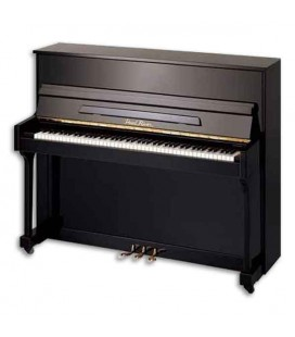 Piano Vertical Pearl River  EU115S PE 115cm Preto Polido Estudo