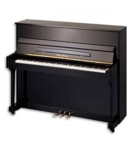 Piano Vertical Pearl River  EU115S PE 115cm Preto Polido