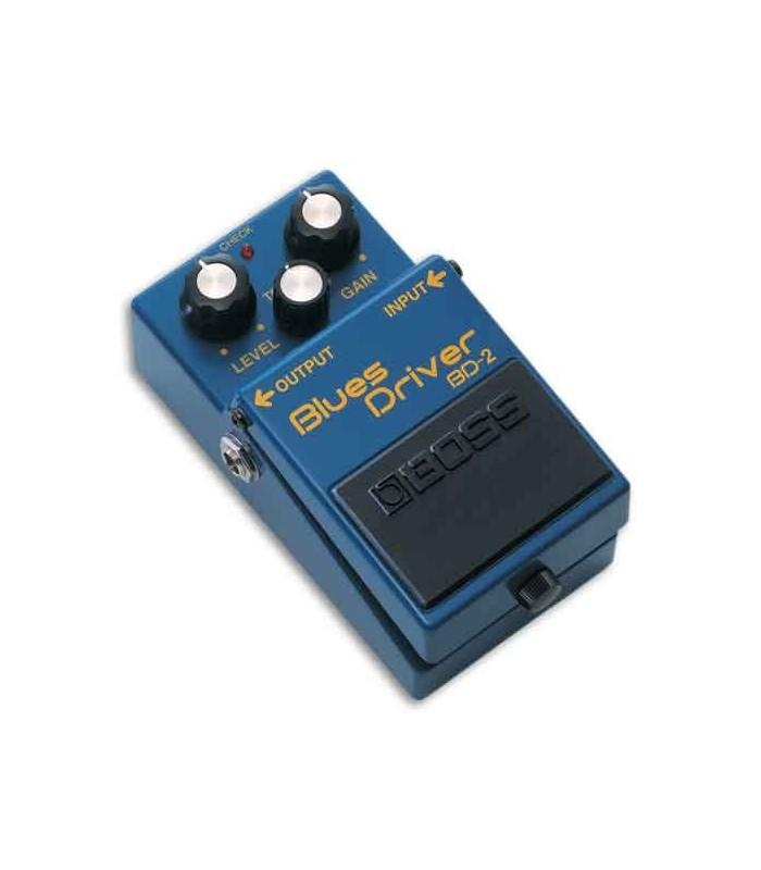 Foto a 3/4 do pedal Boss BD 2