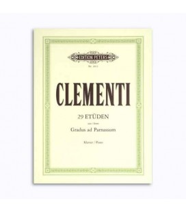 Editions Peters Book EP3013 Clementi Studies