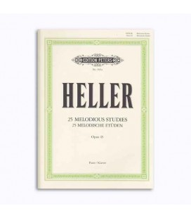 Editions Peters Book EP3561A Heller Melody Study OP 45