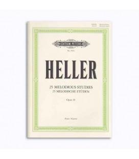 Libro Editions Peters EP3561A Heller Melodia Estudio OP 45