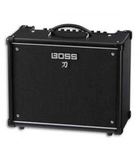 Foto a 3/4 del amplificador Boss Katana KTN50