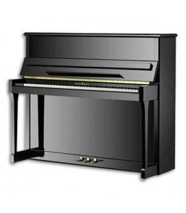 Piano Vertical Schimmel I123 123 cm Preto Polido International