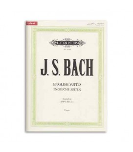 Livro Editions Peters EP4580 Bach Suites Inglesas Complete
