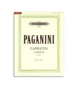 Libro Editions Peters EP9979 Paganini 24 Caprichos para Violín OP1