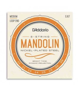 Juego de Cuerdas Daddário EJ67 para Mandolina