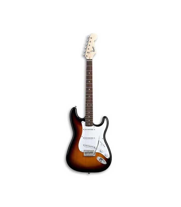 electric guitar fender squier bullet stratocaster brown sunburst. Black Bedroom Furniture Sets. Home Design Ideas