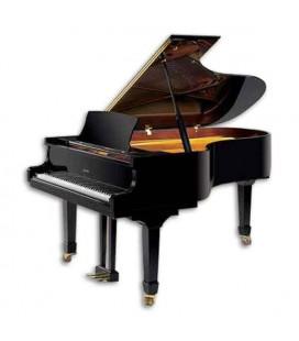 Piano Cauda Ritmuller GH212R PE 212cm Preto Polido Premium Semi Concerto