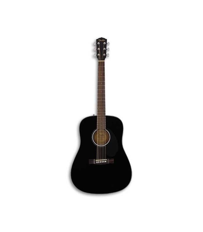 Guitarra Folk Fender Dreadnought CD 60S Black