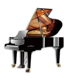 Piano Cauda Schimmel I188 188 cm Preto Polido International