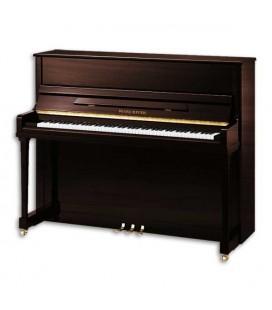 Piano Vertical Pearl River EU122S PW Nogueira Polido 122cm Premium Profissional
