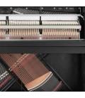 Kawai Upright Piano ND 21 121cm Polished Black 3 Pedals