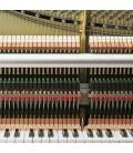 Kawai Upright Piano K 500 130cm Polished Black 3 Pedals