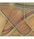 Piano Vertical Kawai K 600 134cm Preto Polido 3 Pedais