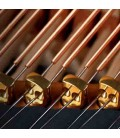 Piano de Cauda Kawai GL 40 180cm Preto Polido 3 Pedais