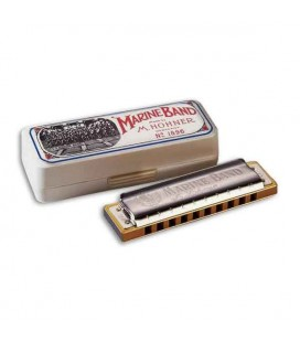 Hohner Harmonica Marine Band in D 1896 20 D