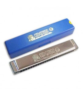 Photo of harmonica Hohner Big Valley with the box