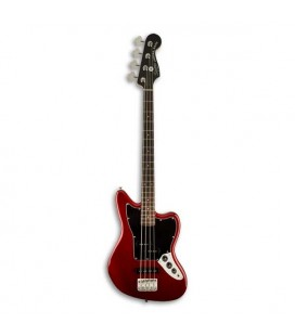 Guitarra Bajo Fender Squier Vintage Modified Jaguar Bass Special SS Short Scale RW Candy Apple Red