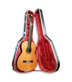 Guitarra Clássica Luthier Vicente Carrillo Concerto Cedro e Pau Santo Índia Primera com Estojo