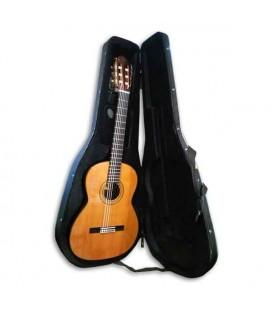 Guitarra Clássica Luthier Vicente Carrillo Estúdio Cedro e Pau Santo Índia com Estojo