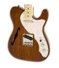 Guitarra Elétrica Squier Classic Vibe Telecaster Thinline MN Natural