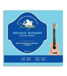 Juego de Cuerdas Dragão UK066 para Ukelele Soprano