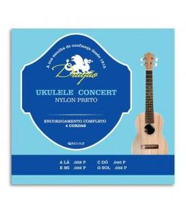 Juego de Cuerdas Dragão UK065 para Ukelele Concierto