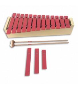 Honsuy Alto Diatonic Glockenspiel 49010 C to A