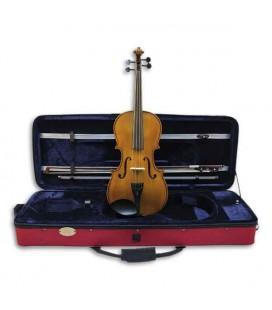 Photo of viola Stentor Student II with case and bow
