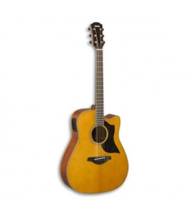 Guitarra Eletroacústica Yamaha A1M II Artesanal Dreadnought Abeto e Mogno Natural