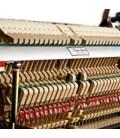 Kawai Upright Piano K 15 110cm Polished Black 3 Pedals