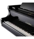 Piano de Cauda Kawai GX 1 166cm Preto Polido 3 Pedais