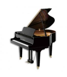 Piano de Cola Kawai GL10 152cm Negro Pulido 3 Pedales