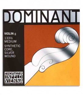 Cuerda Thomastik Dominant 133 4ta Sol para Violín 1/2