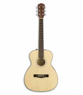 Guitarra Acústica Fender Travel Abeto Macizo y Caoba Natural
