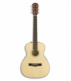 Guitarra Acústica Fender CT 60S Travel Spruce Maciço e Mogno Natural