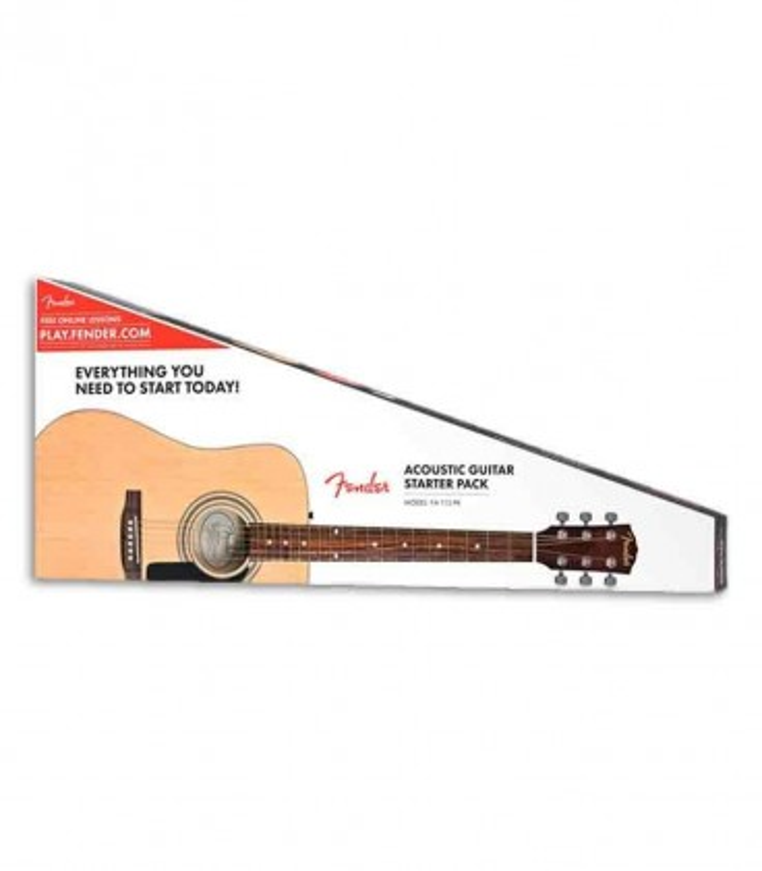 Pack Guitarra Folk Fender FA-115 Spruce Natural