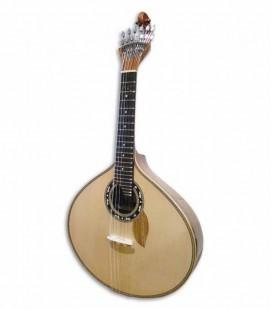 Guitarra Portuguesa Artimúsica Modelo Lisboa Profissional Pakaya em Ovangkol
