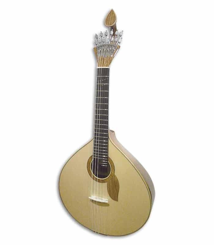 Guitarra Portuguesa Artimúsica Modelo Coimbra Profissional em Ovangkol e Tampo Pinho de Flandres