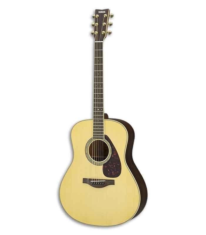Guitarra Eletroacústica Yamaha LL6 ARE Abeto e Pau Santo Natural com Saco
