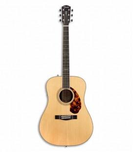 Guitarra Electroacústica Fender PM 1E Paramount Limited Dreadnought Natural con Estuche