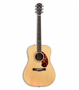 Guitarra Eletroacústica Fender PM 1E Paramount Limited Dreadnought Natural com Estojo